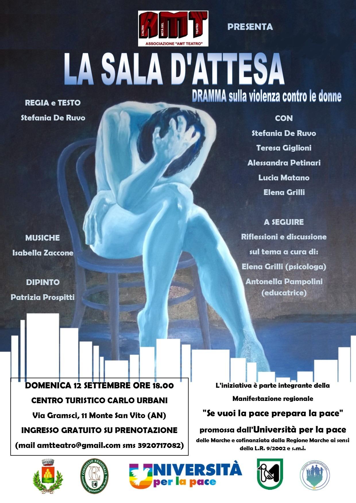"""Torna """"LA SALA D'ATTESA"""" con AMT TEATRO APS"""